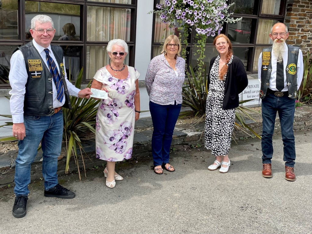 Widows Sons MRA supporting the Order of Women Freemasons in Cornwall